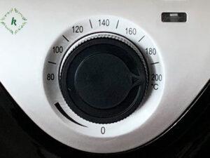 núm chỉnh nhiệt độ