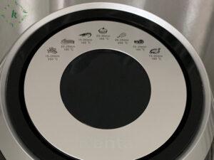 bảng điều khiển nồi chiên không dầu kenta KT-08