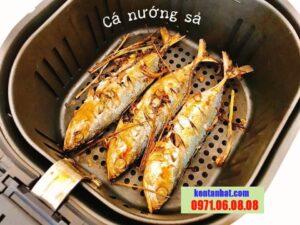 cá bạc má nướng sả